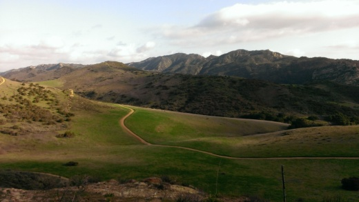 Very picturesque views from the Lang Ranch/Woodridge Open Space.