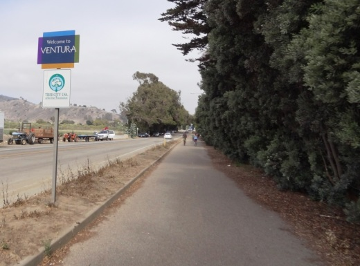 Omer Rains Bike Path near Ventura Beach RV Resort on Main St.