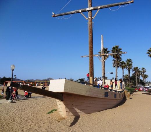 """The """"San Salvador"""" at Marina Park"""