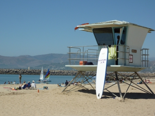 Harbor Cove Beach Lifeguard Station
