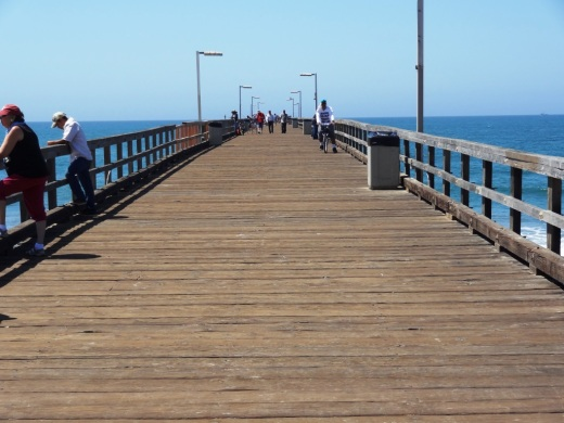 24 hour fishing pier at Hueneme Beach Park