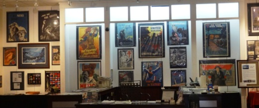 Museum of Military History Posters and Memorabilia in Simi Valley