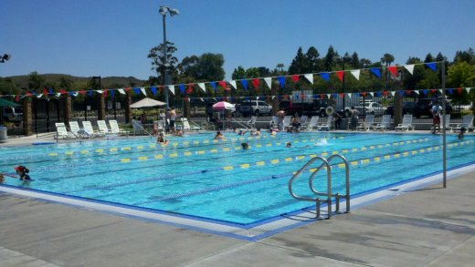 Stay Cool In The Pool Community Swimming Throughout Ventura