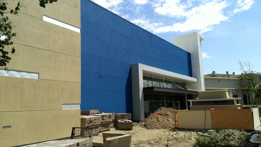 Construction coming right along at the Studio Movie Grill at the Simi Valley Town Center