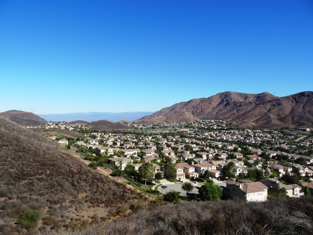 A more recent view of Dos Vientos from one of the many trails surrounding the area.