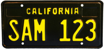 image is for illustration only. final design of the plate will differ. (Image courtesy of dmv)