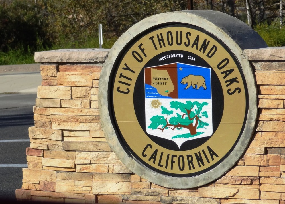 City of Thousand Oaks Sign