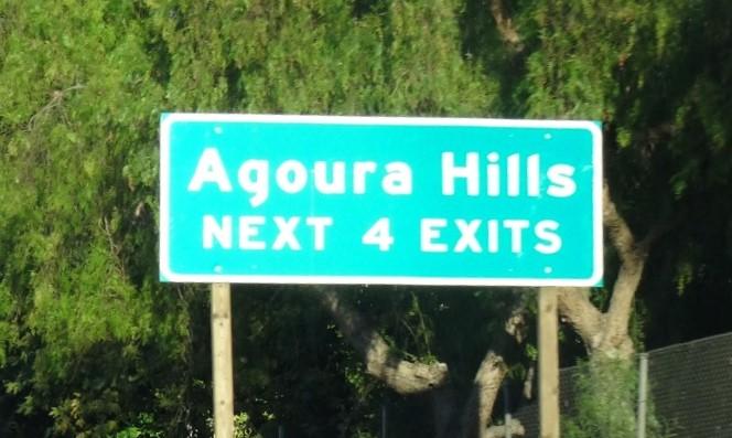Agoura Hills Sign