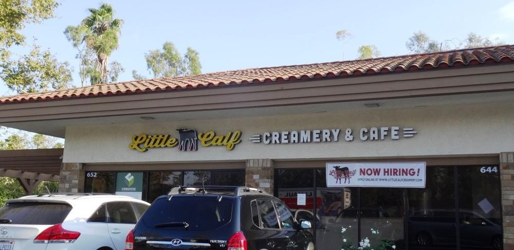 Little Calf Creamery & Cafe Sept 2015