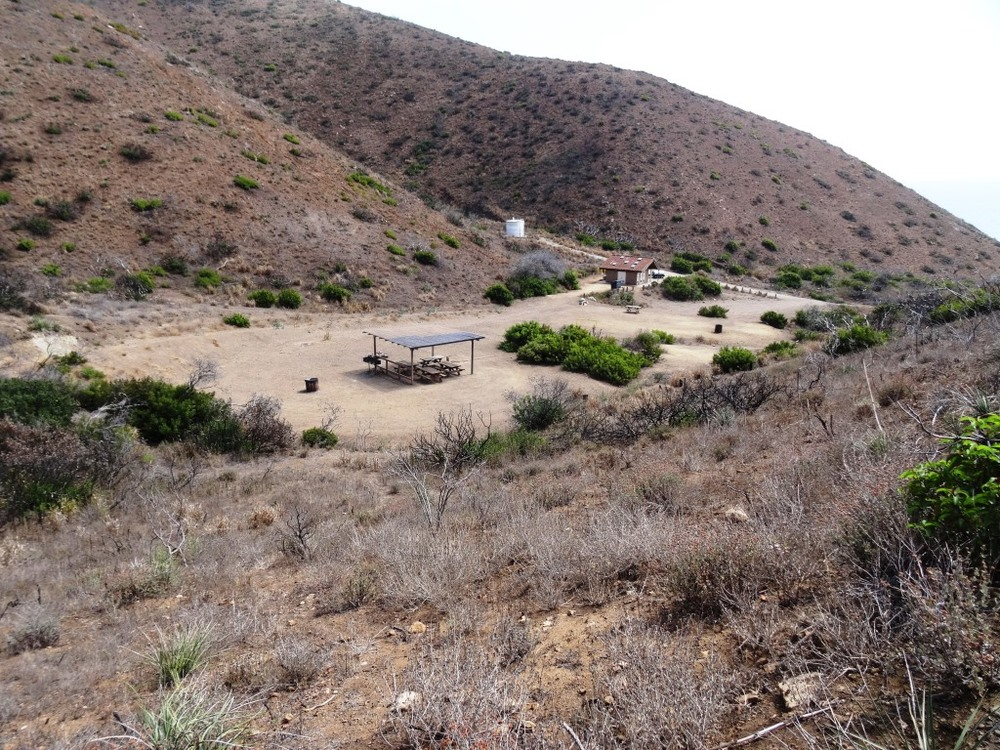 La Jolla Valley Group Camping Area