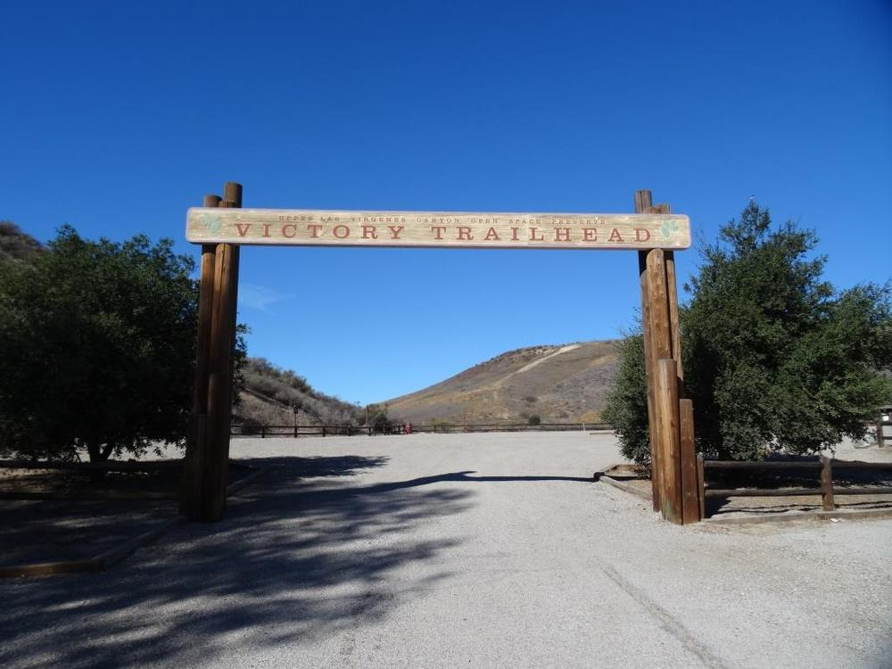 The Victory Trailhead at the eastern end of Victory Boulevard is the main entrance into the Preserve, with a large gravel parking lot (there is a fee).