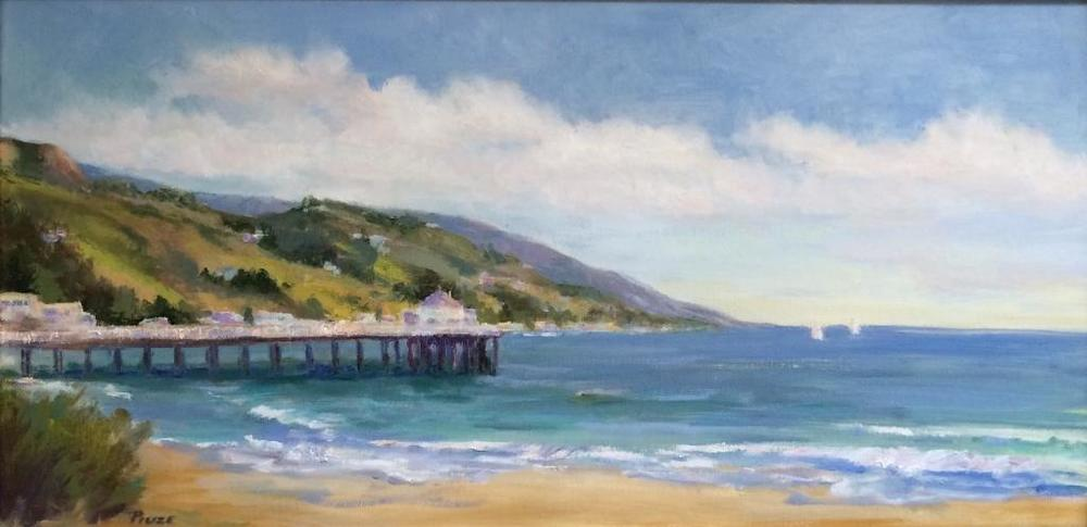 Summer Days are Here Again (Marnie Smart Piuze) 12x24