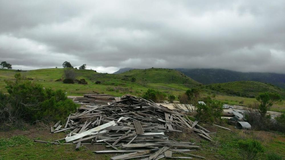 Historic 1930 Dos Vientos Ranch buildings dismantled on stored here