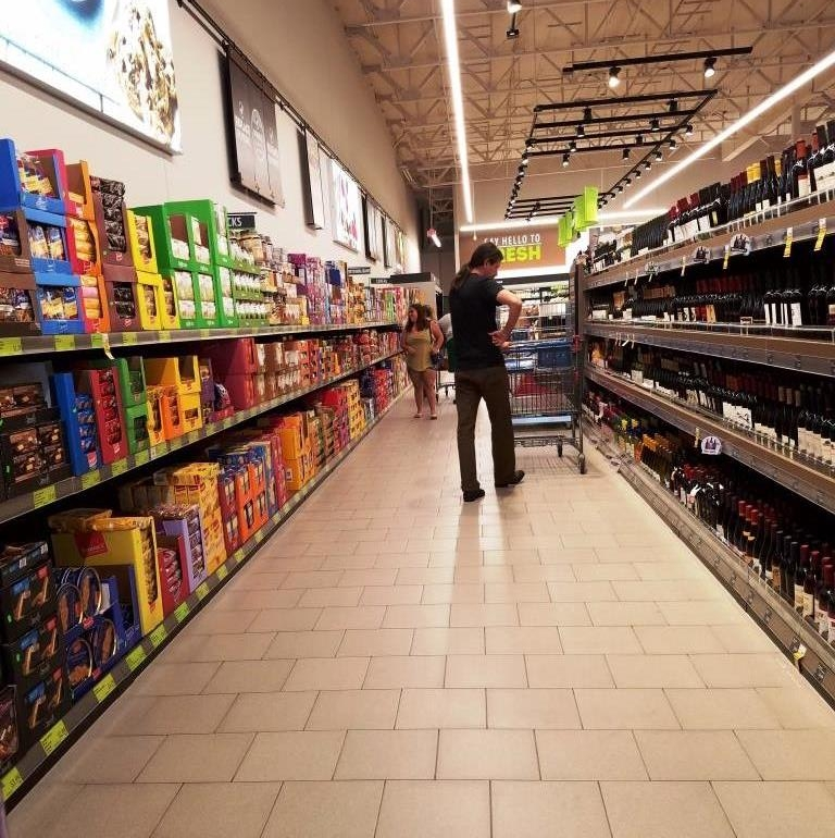 The snack and wine aisle. My favorite aisle.