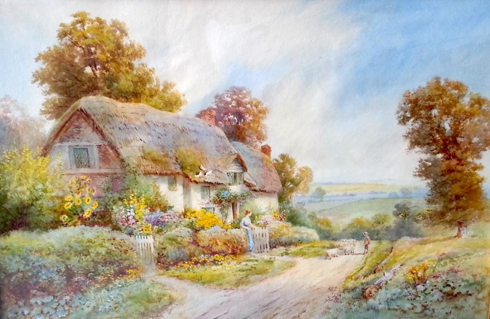 """Alham, Somerset"" by Thomas Noel Smith"