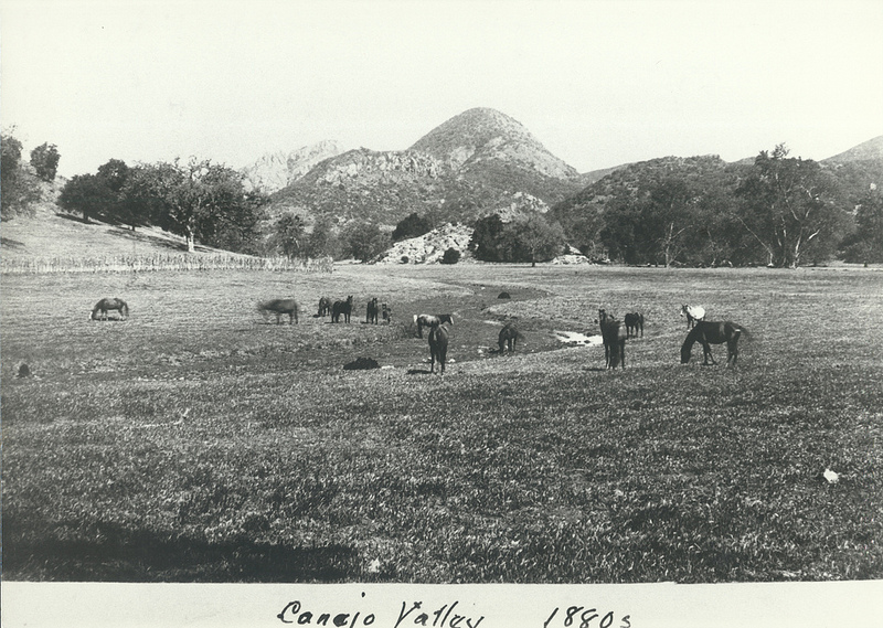 Photo of the Howard Ranch in the 1880s. The Howard residence was near where Triunfo Park is today in Westlake Village. (Courtesy of Conejo Through the Lens Collection; Thousand Oaks Library Special Collections.)