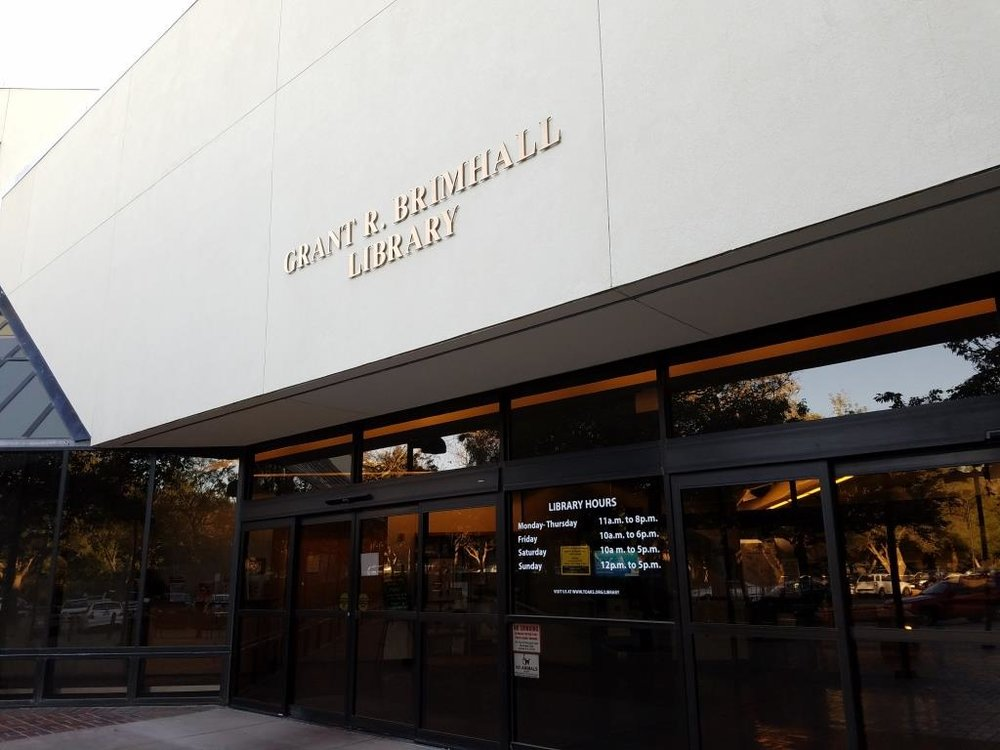 Thousand Oaks (Grant R. Brimhall) Library.