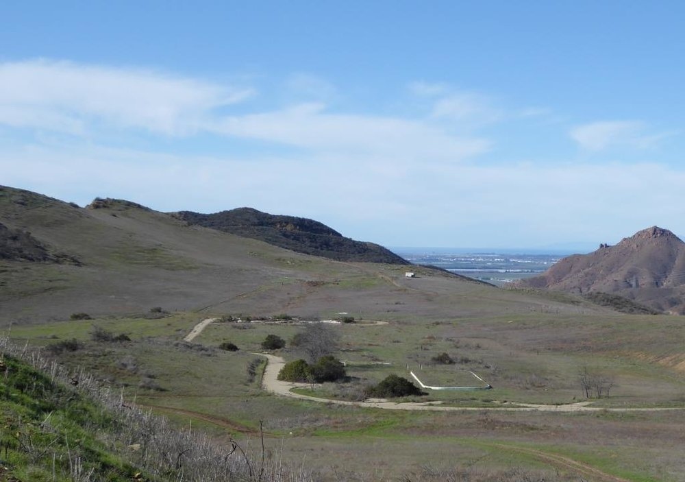 The former Olympia Farms property in the Rancho Potrero Open Space in Newbury Park.