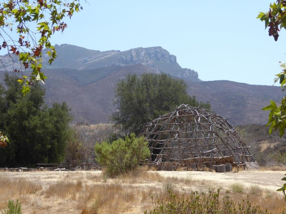 The Chumash home, or 'Ap, at Rancho Sierra Vista/Satwiwa.