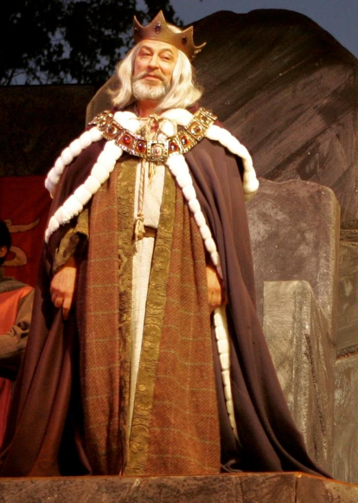 "John Slade in ""King Lear"" (Photo credit: Brian Stethem)"