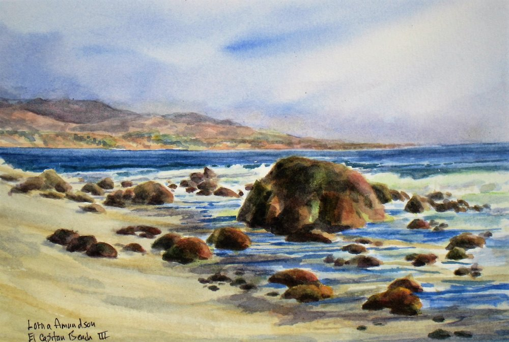 El Capitan Beach by Lorna Amundson