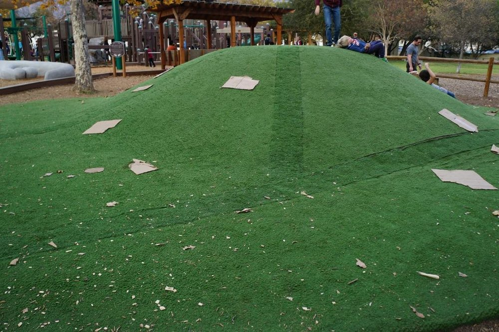 The Turf Hill at Libbey Community Playground