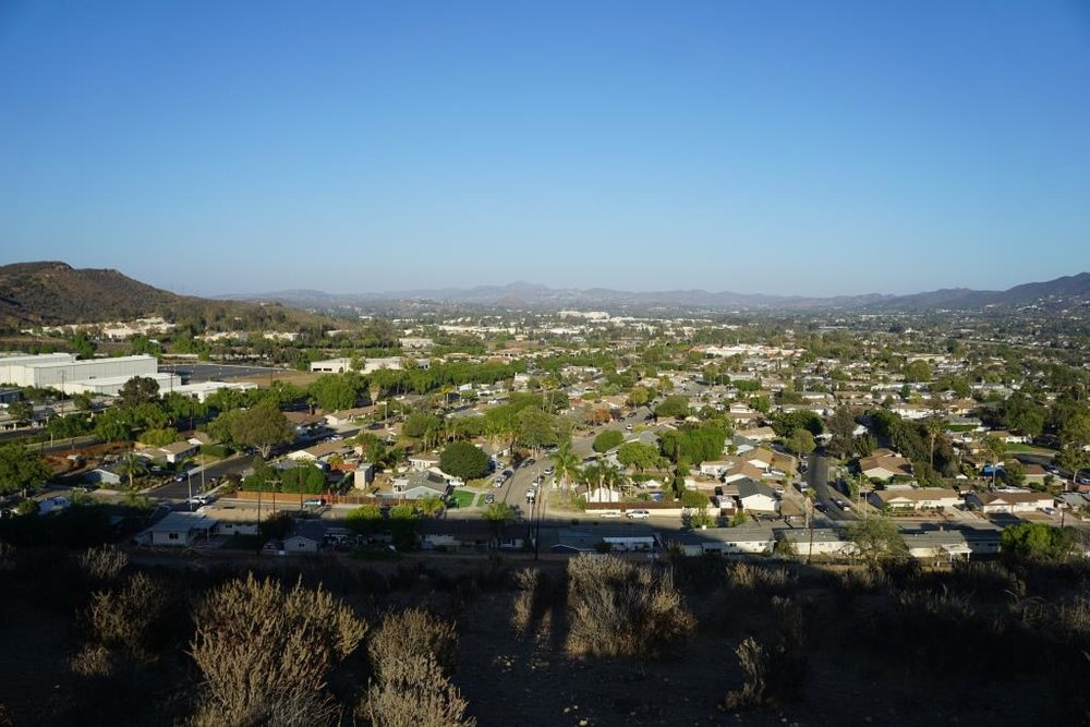 Views towards Thousand Oaks