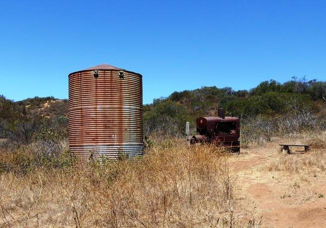 Vintage ranch items off of the   Palo Comado Trail   near Sheep Corral Trail in Oak Park/Agoura.
