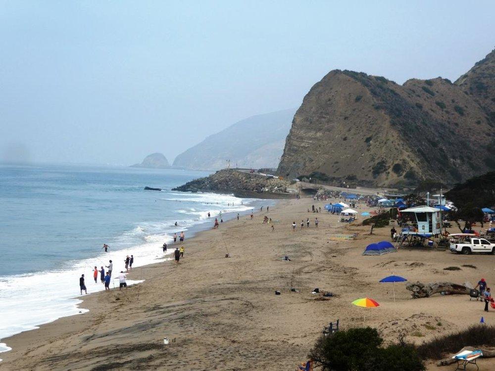 Sycamore Cove Beach in Point Mugu