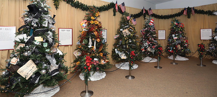 an american christmas display at reagan library in simi valley opens november 10 2018 - American Christmas