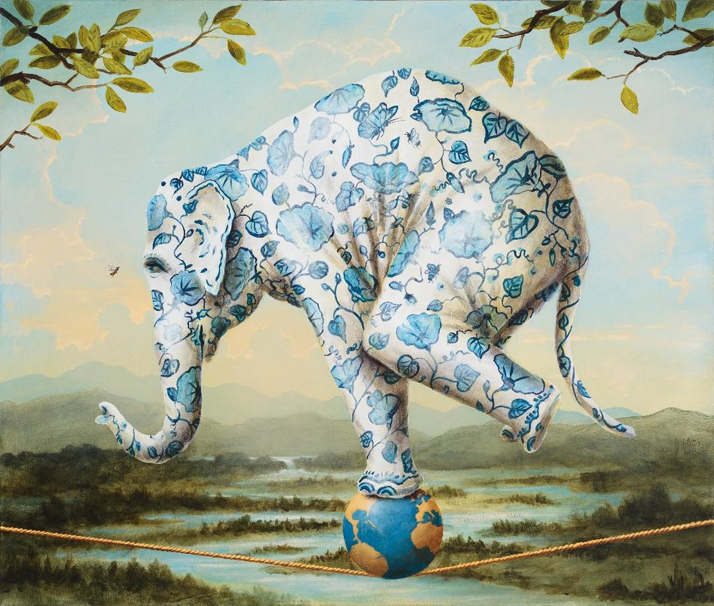 "Kevin Sloan: ""The Delicate Flowers"""