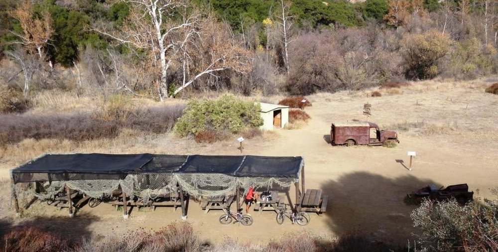 MASH set at Malibu Creek Park in pre-Woolsey Fire days.