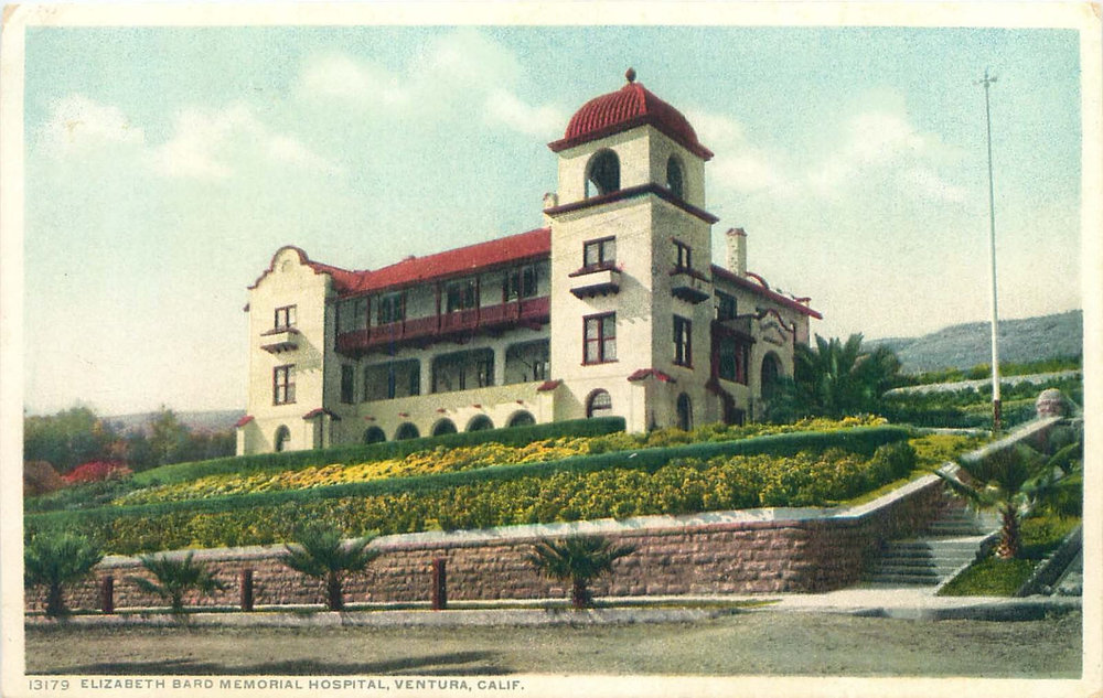 Elizabeth Bard Memorial Hospital in 1910.