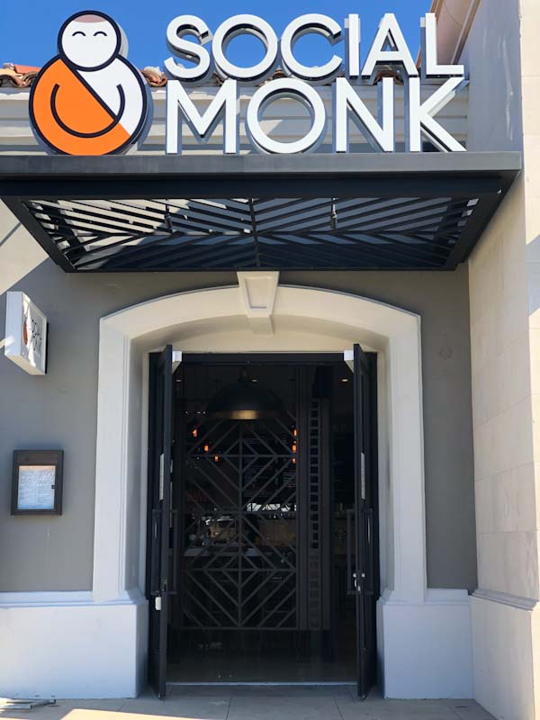 Social Monk at The Promenade at Westlake making progress on the first day of December 2018 (Photo Credit: Rob Jaffe of Conejo Deals)