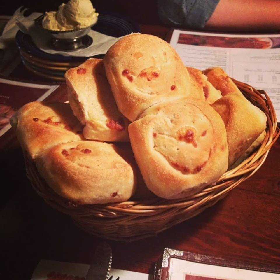 A signature item at The Pizza Cookery are their Garlic Rolls! MMmm!