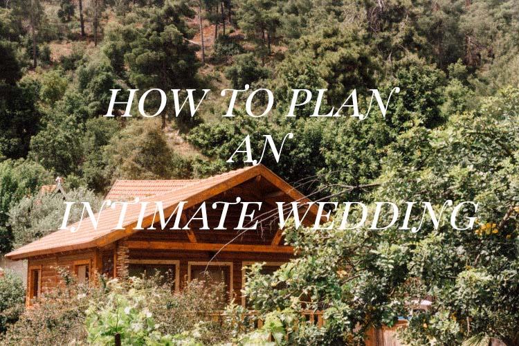 איך לתכנן חתונה קטנה ואינטימית