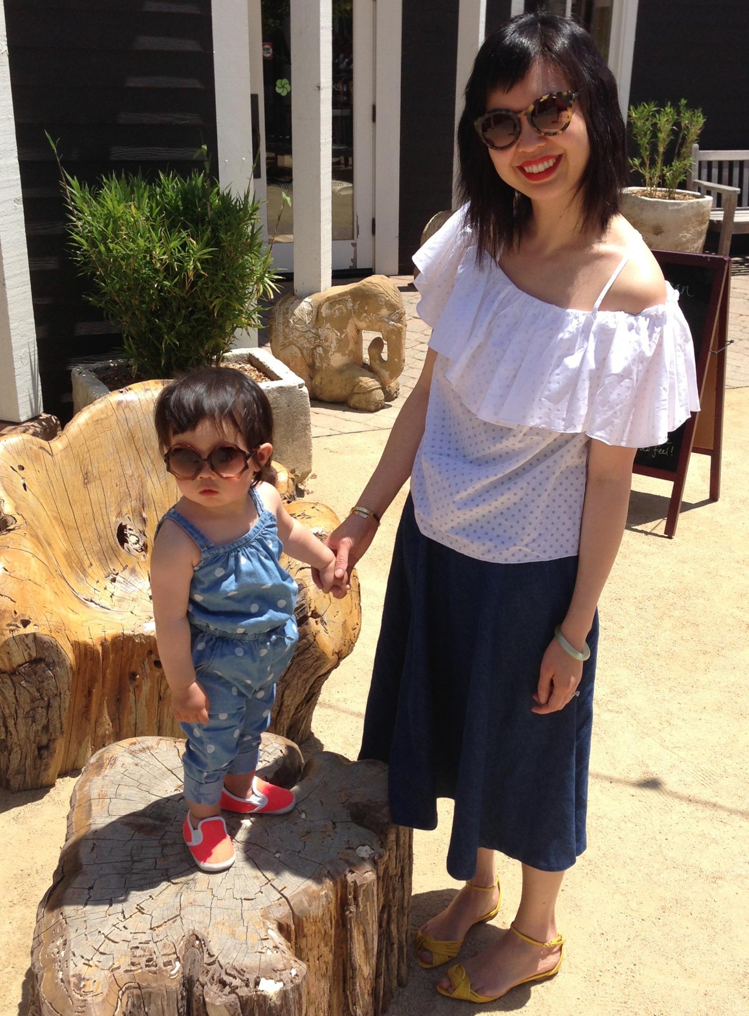 marni and me at marin country mart