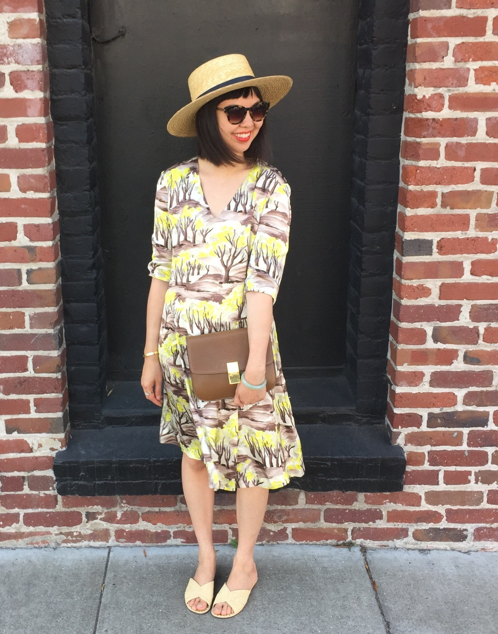 marni_forest_print_yellow_dress