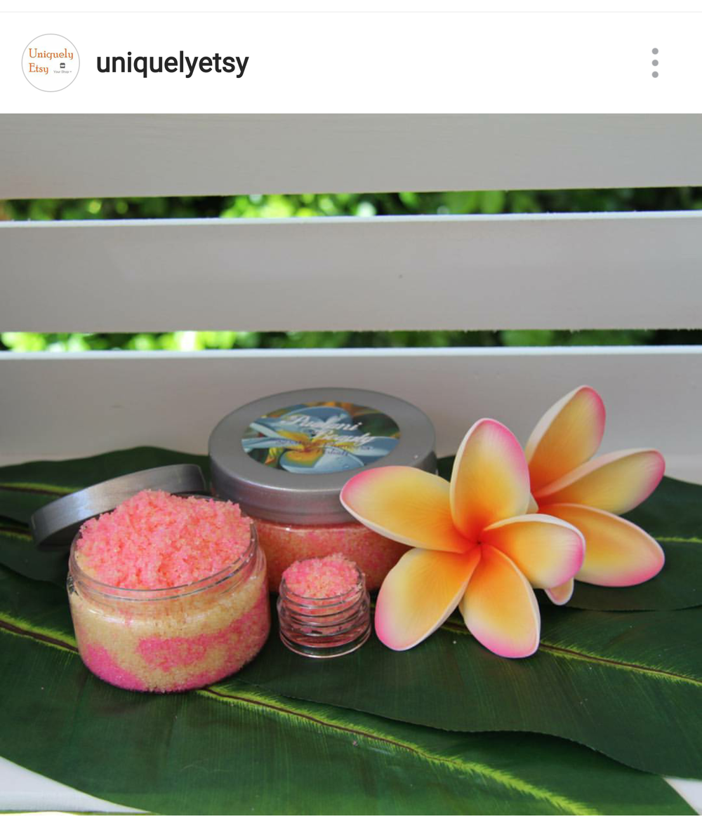 Our feature in Uniquely Etsy on Instagram!