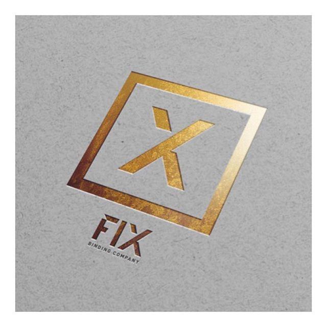 Branding hits #goldfoil #fixbindingco