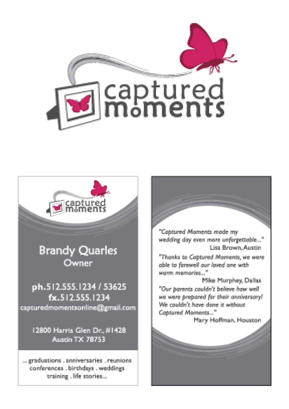 Business cards logos canaydesign logos12g reheart Gallery