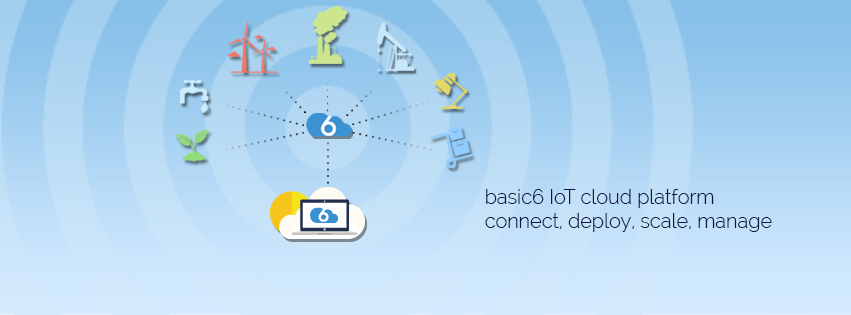 With basic6, you can control and manage IoT devices anywhere, from anywhere!