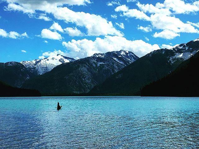 #glaciallake #cheakamuslake #mountains #hike