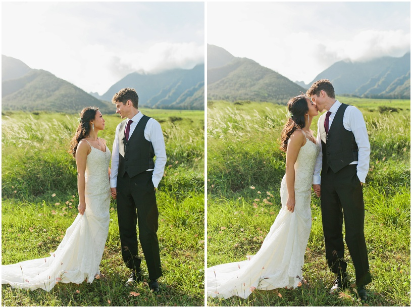 Maui Wedding photographer | Maui wedding | Little Beach | Maui Tropical Plantation