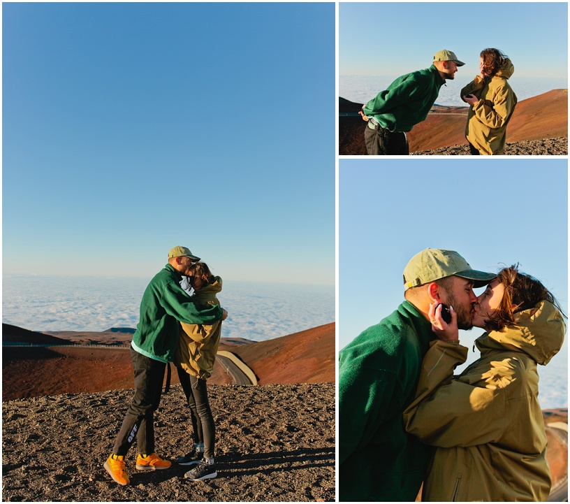 pil c engaged hawaii photographer mauna kea proposal