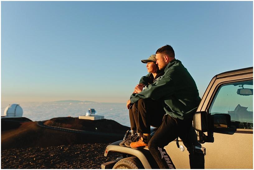 pil c engaged hawaii photographer mauna kea proposal