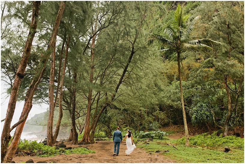 Hawaii Elopement Waipio