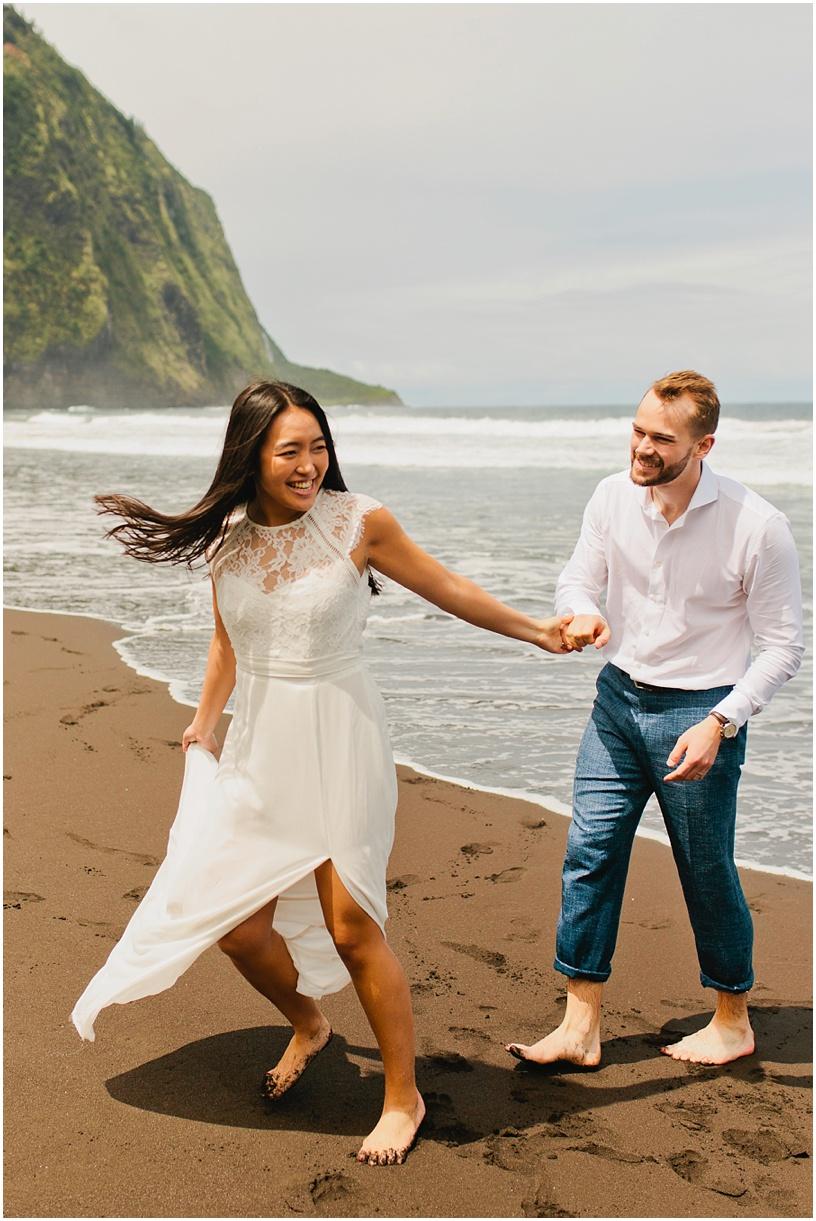 Hawaii wedding photographer waipio