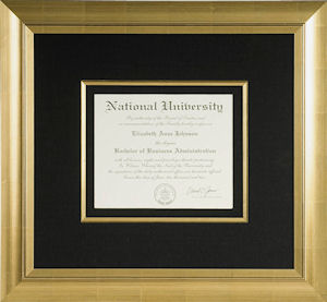 Framed Diploma Ideas