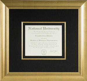 Framed Diploma Ideas